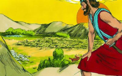 15 यहोशू, विश्राम के देश