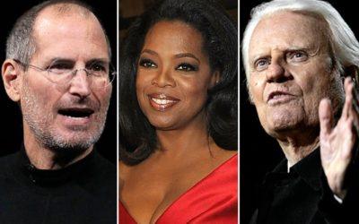 Oprah Winfrey and Billy Graham
