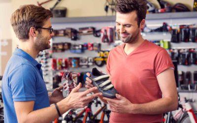 A shoe salesman